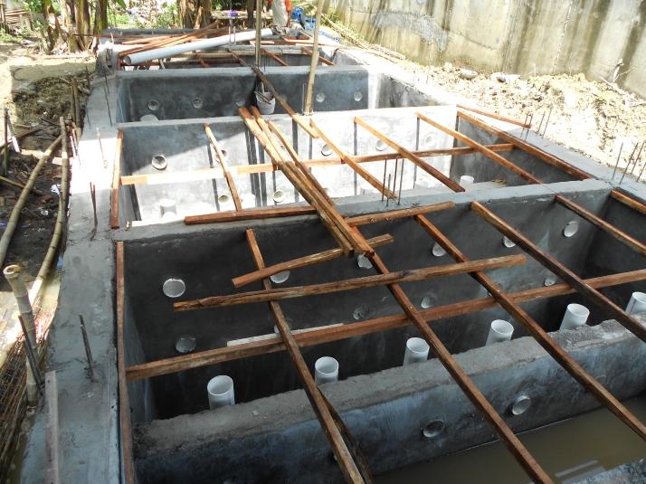 Proses Pembangunan IPAL
